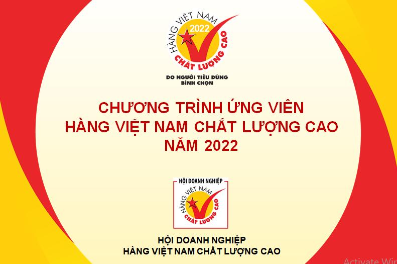 Khởi động chương trình Ứng viên Hàng Việt Nam chất lượng cao 2022
