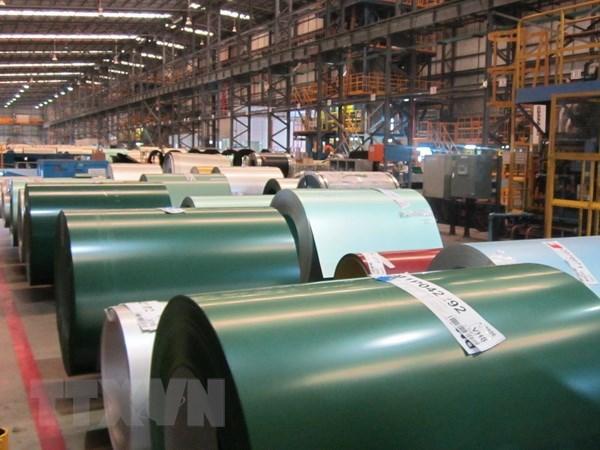 Malaysia áp thuế chống bán phá giá đối với thép cuộn mạ màu của Việt Nam